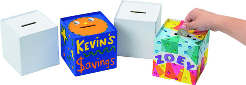 Money Box to be personalized 12pc set