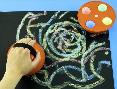 Giant Chalk Pattern Markers