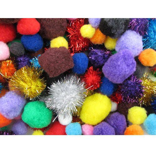 Bumper Pack of Pom Poms