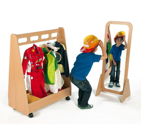Basic Dress-up Trolley and Mirror set