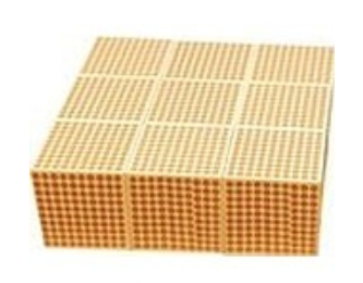 Wooden Thousand Cubes 9 pcs
