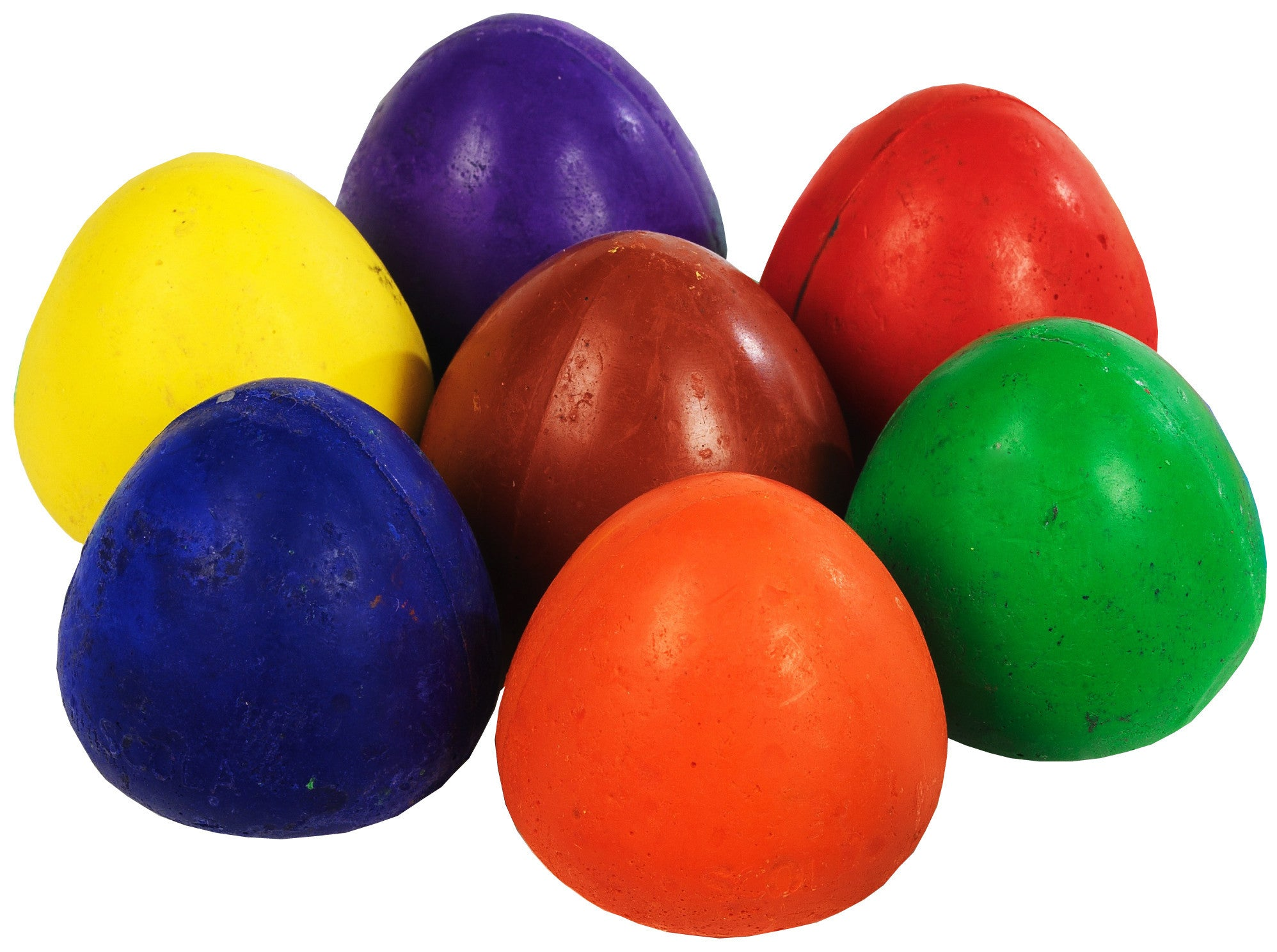 Chubbi Egg Crayons Pack of 8