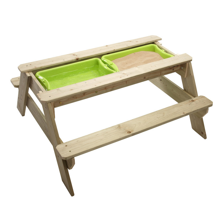 Superb Wooden Picnic Sand And Water Table