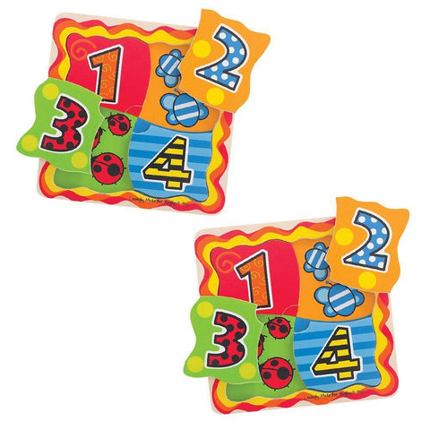 Set of 2 Matching Number Puzzles