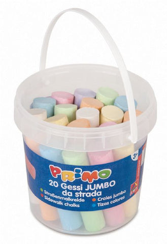 Jumbo Chalks in Tub