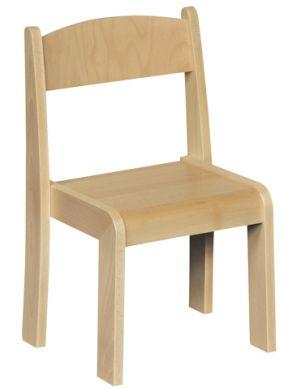 Stackable Beech Chairs