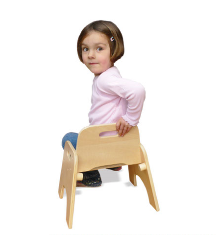 Wobbler Chair in use