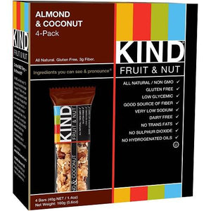 Kind Bar Almond and Coconut (12 ct)