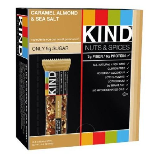 Kind Bar Caramel Almond and Sea Salt (12 ct)