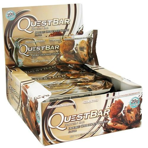Quest Bar Double Chocolate Chunk (12 ct)