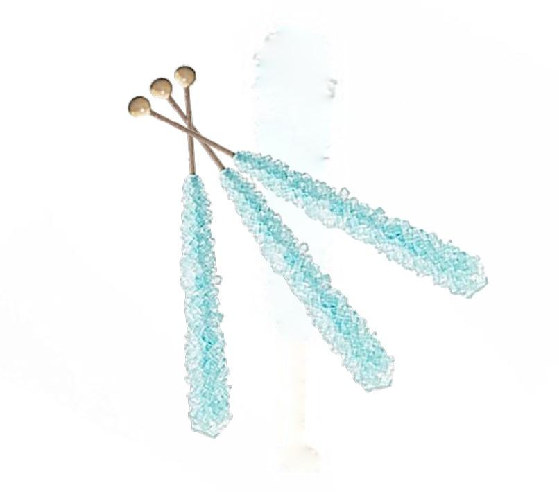 Rock Candy Crystal Sticks Cotton Candy (12 ct)