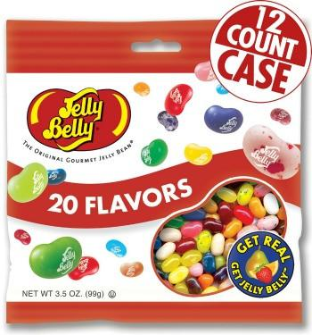 Jelly Belly Jelly Beans Bags 20 Flavors (12-3.5 oz)