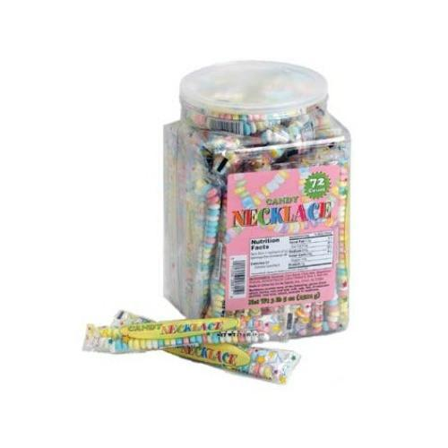 Candy Necklace Jar (72 ct)