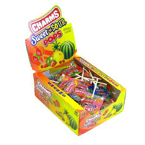 Charms Sweet & Sour Pop (48 ct)