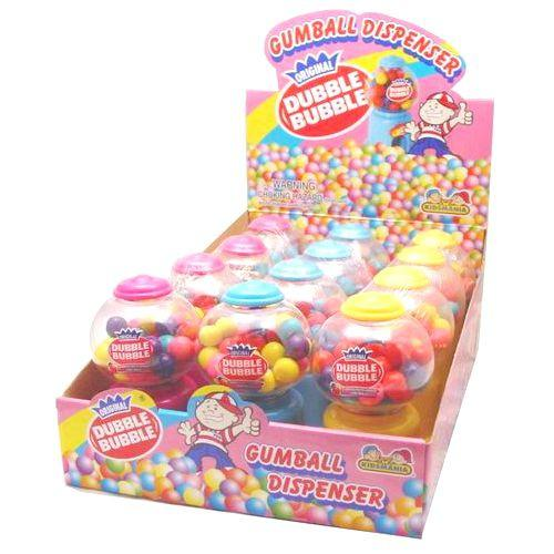 Dubble Bubble Gumball Dispenser (12 ct)