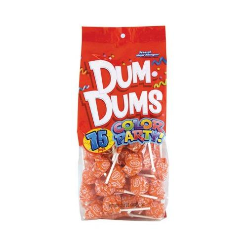 Dum Dums Pops Orange (75 ct)
