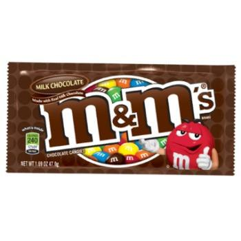 M&M's Milk Chocolate (48 ct)