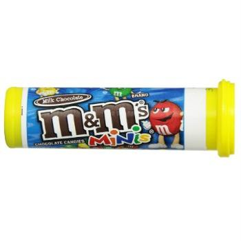 M&M's Milk Chocolate Minis Tubes (24 ct)