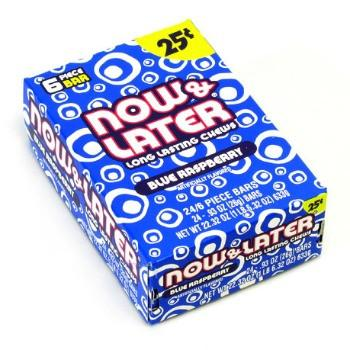 Now & Later 25¢ Blue Raspberry (24 ct)