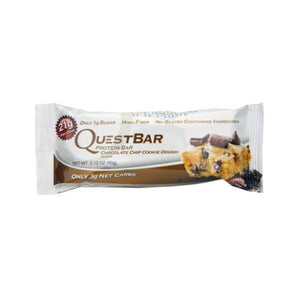 Quest Bar Chocolate Chip Cookie Dough (12 ct)