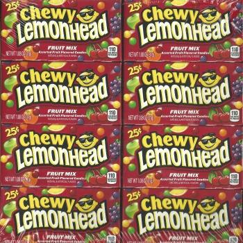 Lemonhead Chewy Fruit Mix Small (24 ct)