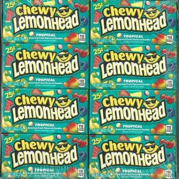 Lemonhead Chewy Tropical Small (24 ct)