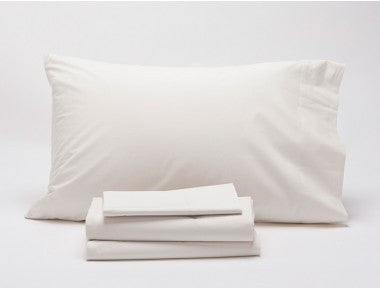 Coyuchi Organic Percale King Sheets WHITE SALE!