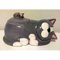 Vintage Cat Cookie Jar