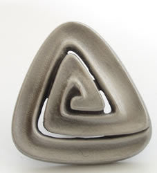 Spiral Triangle Knobs