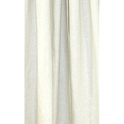 Crisp White Linen Sustainable Drapes