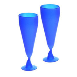 Cobalt Goblets from 100% Recycled Glass
