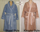 USA Organic Cotton Color Bathrobes - ON SALE!