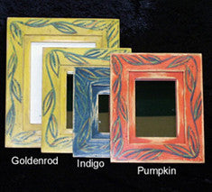 Recycled Wood Handpainted Picture Frames