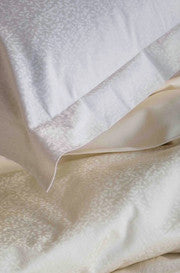 Coyuchi Organic Wisteria Damask Sheets ON SALE
