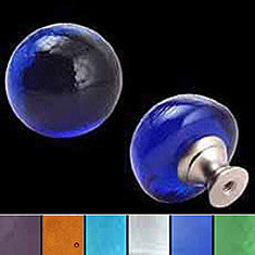 Recycled Glass Dome Knobs