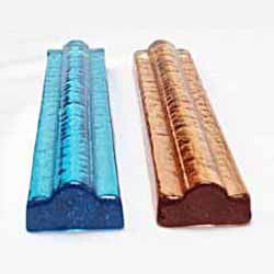 Recycled Glass 1x6 Accent Tile Liner Bar