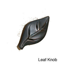 Leaf Design Knobs & Pulls