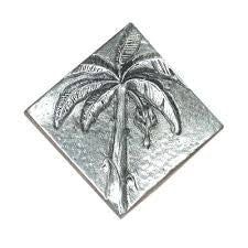 Banana Tree Design Accent Tile