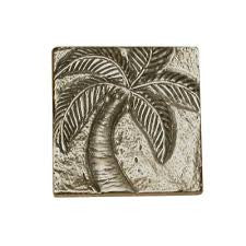 Palm Tree Design Accent Tile