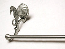 Seahorse Design Sustainable Towel Bars