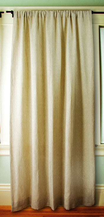 Natural Taupe Linen Sustainable Drapes Greensage Com