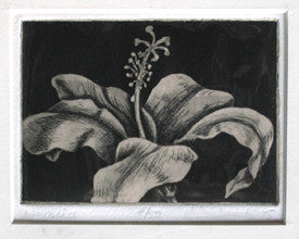 Hybrid Floral Art Etching