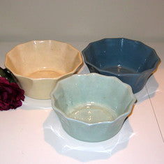 Vintage California Pottery 8305 in a Cream Color, Blue or Mint Green