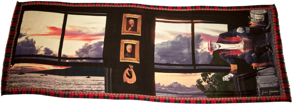 Mick Fleetwood Wool Scarf