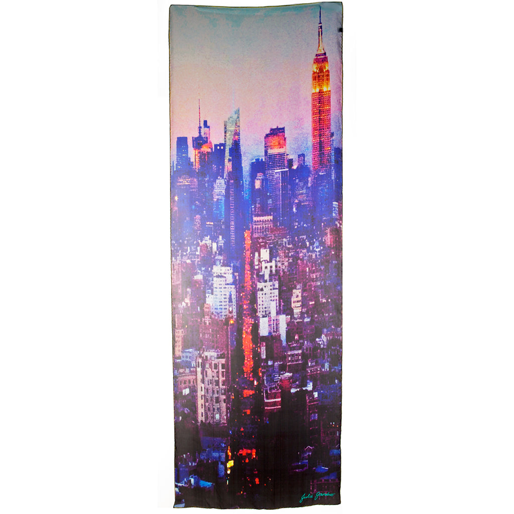 Manhattan Silk Scarf