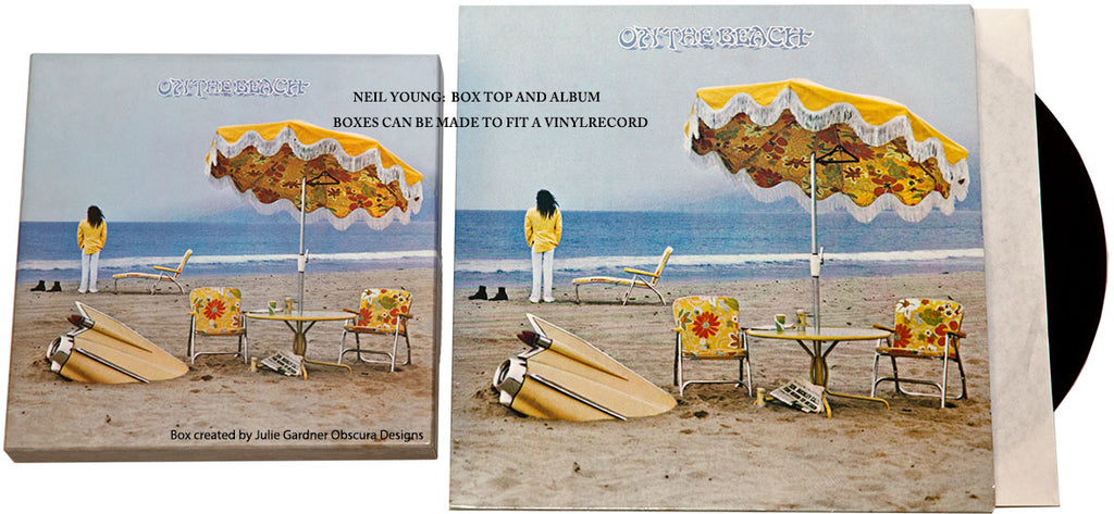 Neil Young scarf / box set. NOT FOR SALE