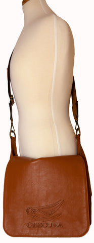 Leather Bag with Detachable Strap