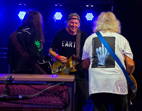 Neil Young & Crazy Horse - Hyde Park London - 12th July 2014 - Exhibition