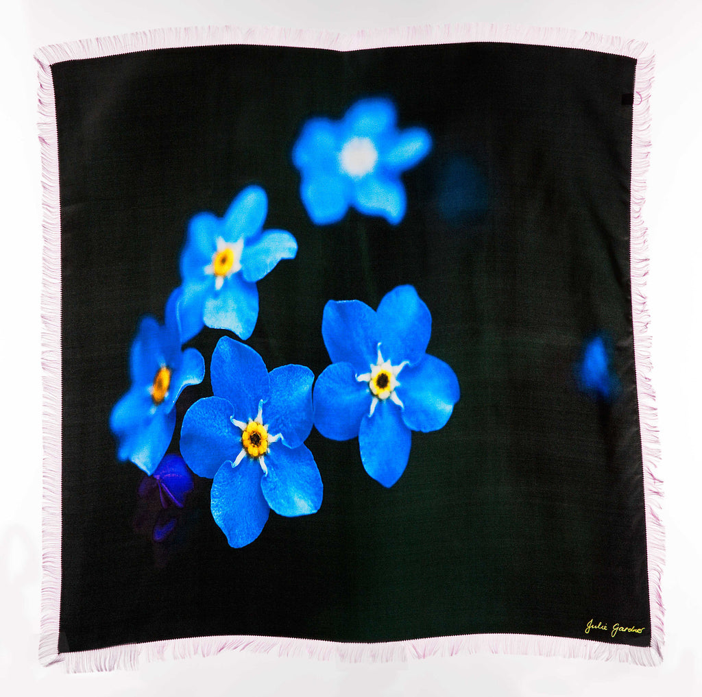 Forget Me Not, Silk Twill
