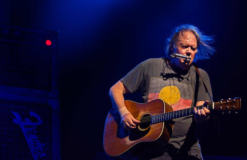 Neil Young & Crazy Horse - Perth Arena, Western Australia - 2nd March 2013 - Exhibition